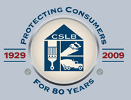 CSLB Protecting Consumers For 80 Years